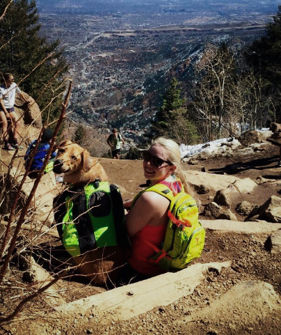 Manitou Incline summit